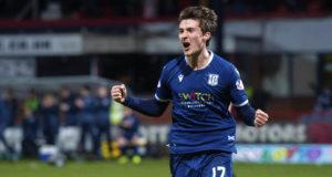 Dundee goal hero Olly Crankshaw says shutouts are behind club's momentum