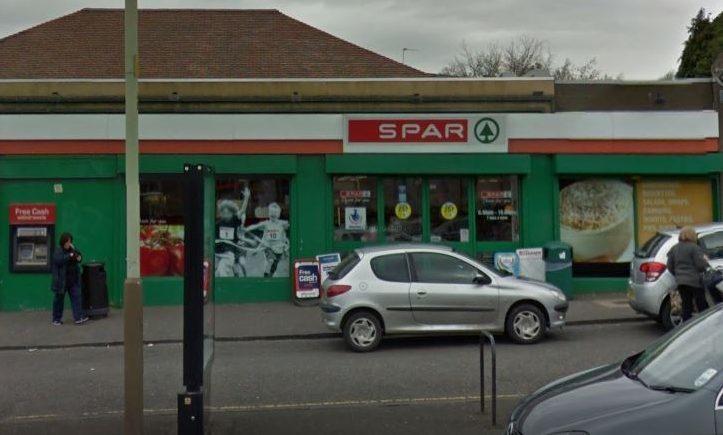 Spar Glamis Road.