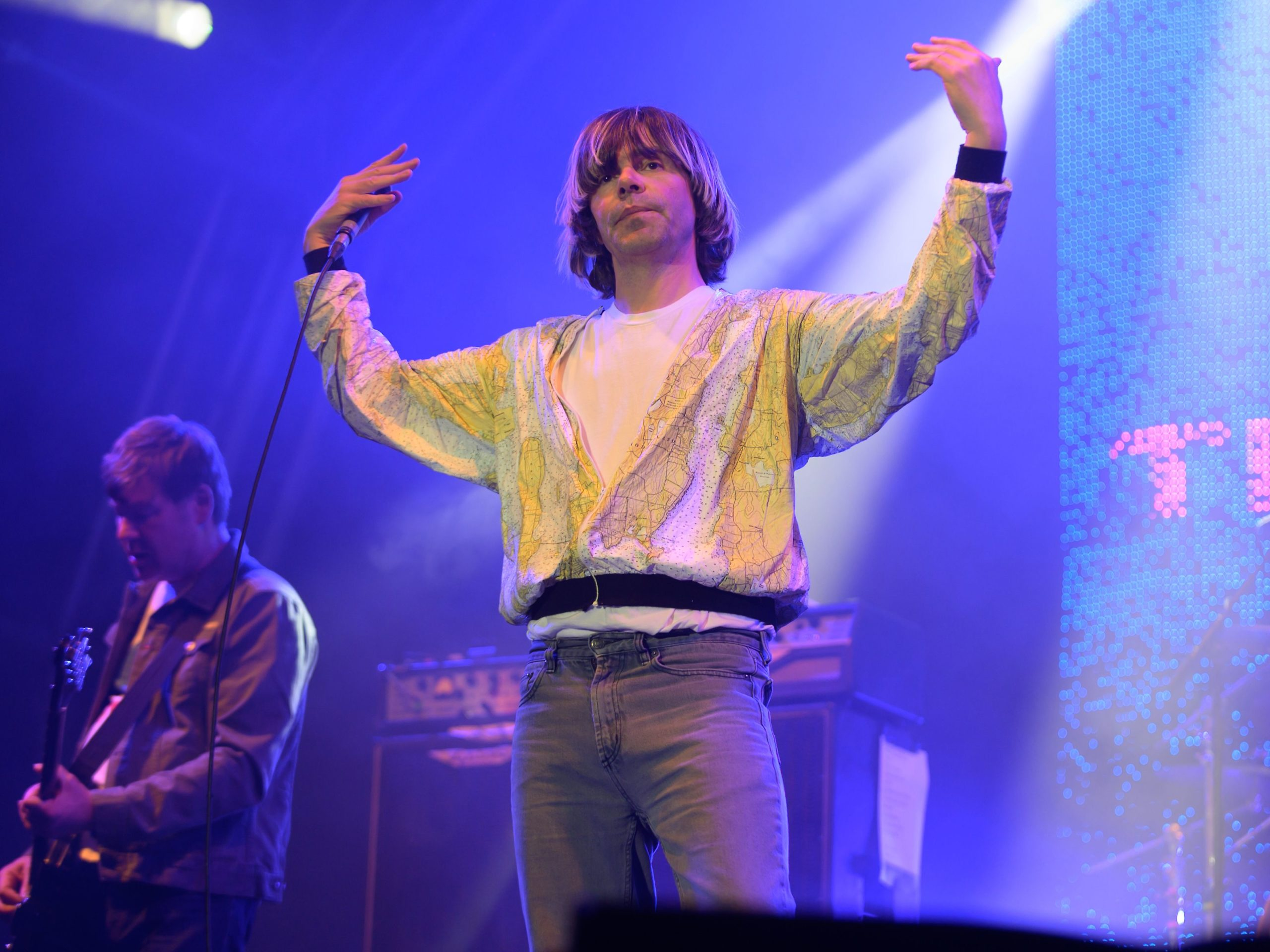 Martin Blunt and Tim Burgess of The Charlatans.