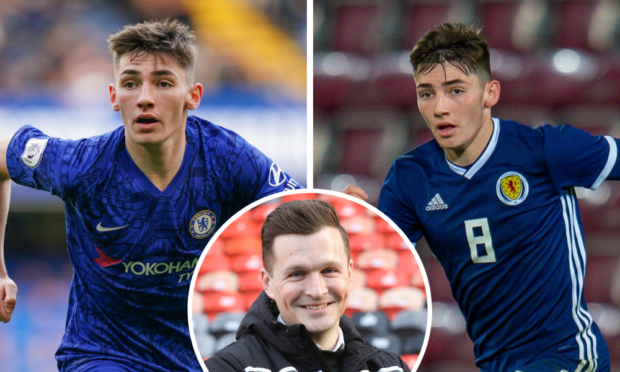 Andy Goldie remains in contact with Billy Gilmour and his family