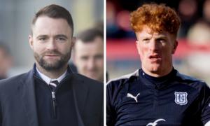 Dundee boss James McPake moving to bring striker Simon Murray back to Dens Park