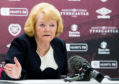 Hearts chief Ann Budge hopes reconstruction can keep her side in the top flight