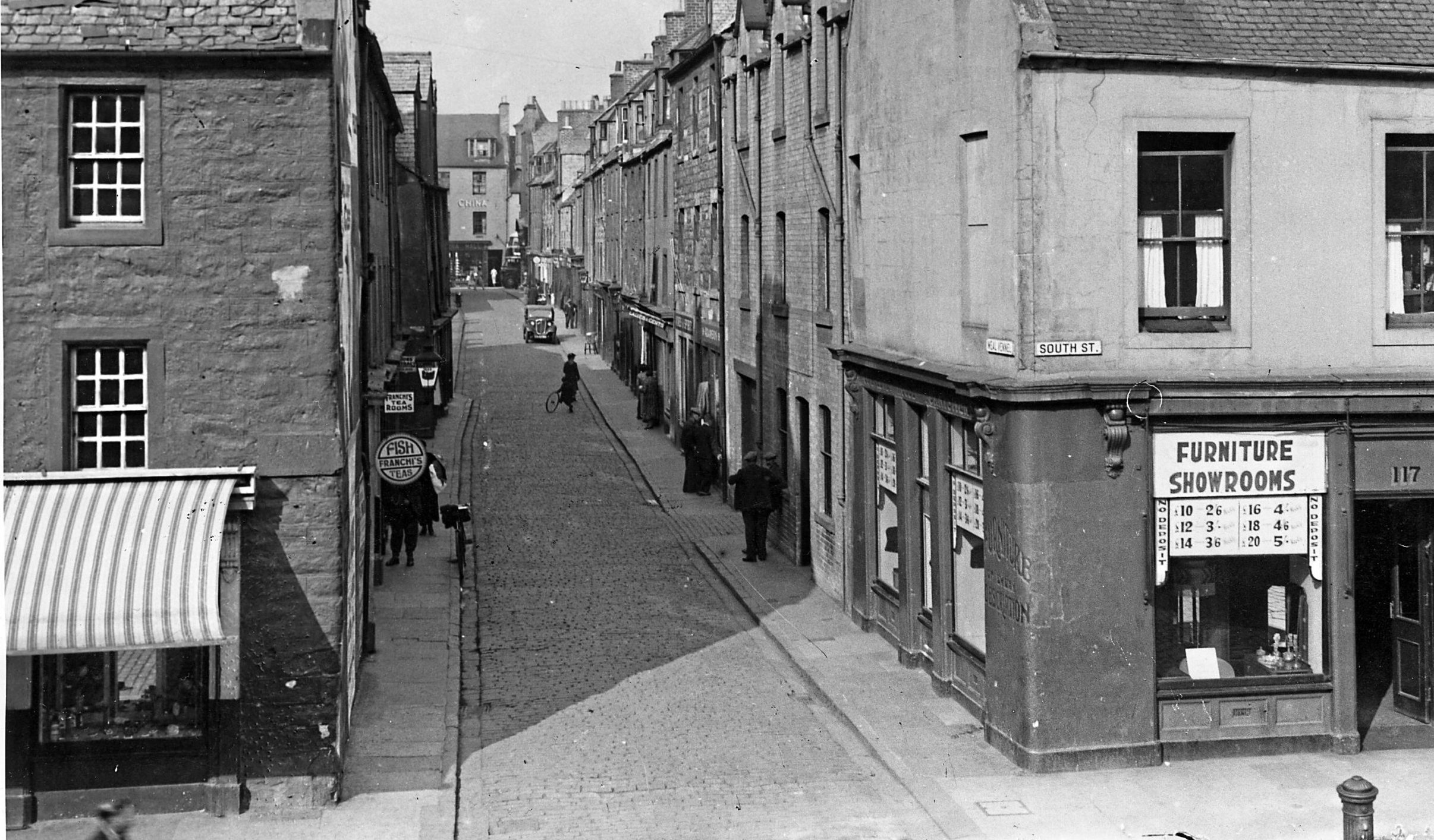 Meal Vennel in Perth where Black Jean lived and died.