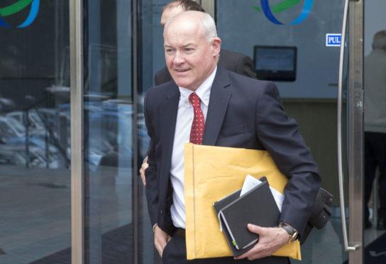 Brechin chairman Ken Ferguson.