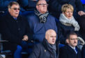 Geoff Brown watches the recent St Johnstone game against Rangers.