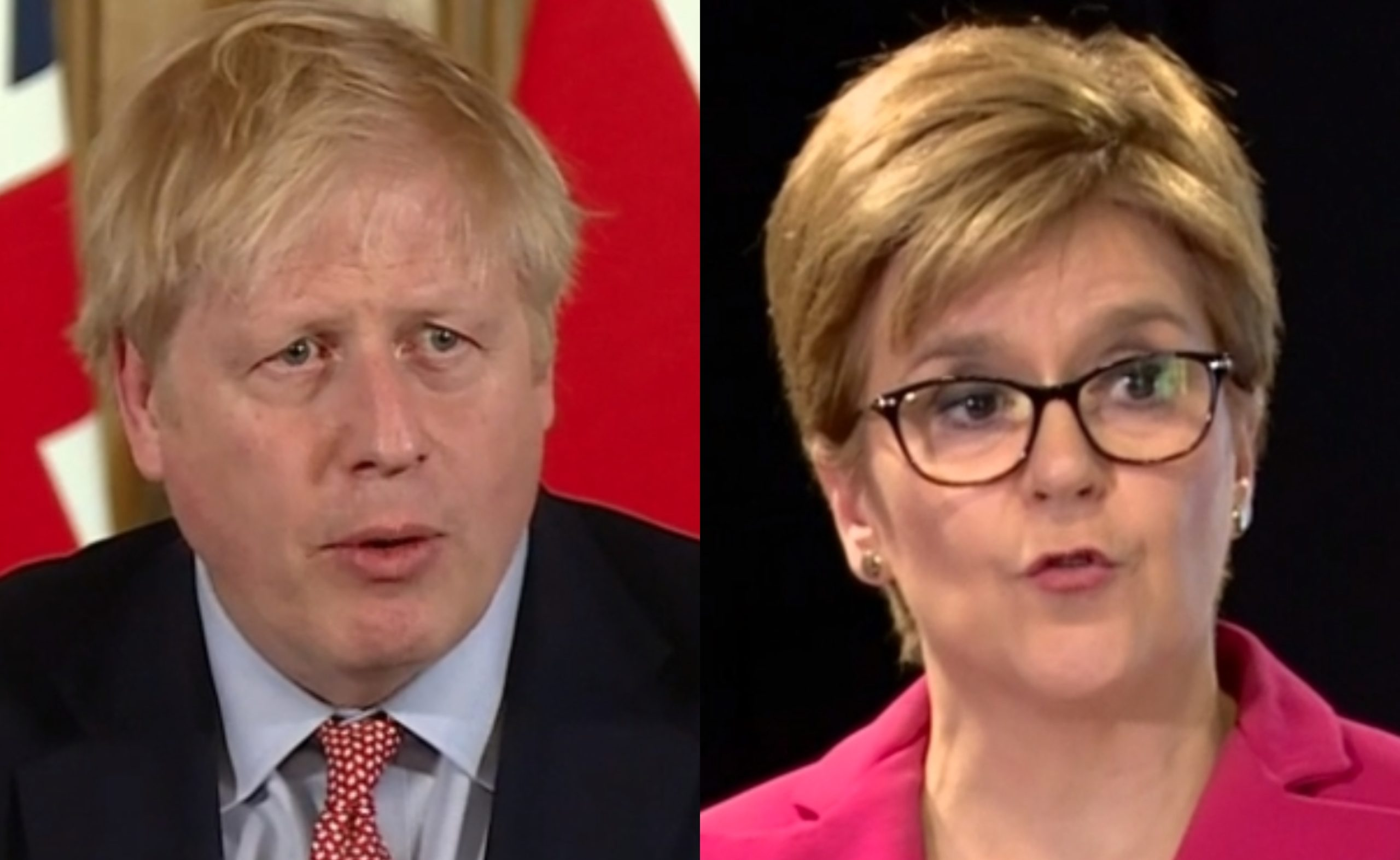 Boris Johnson and Nicola Sturgeon both provided updates on coronavirus.