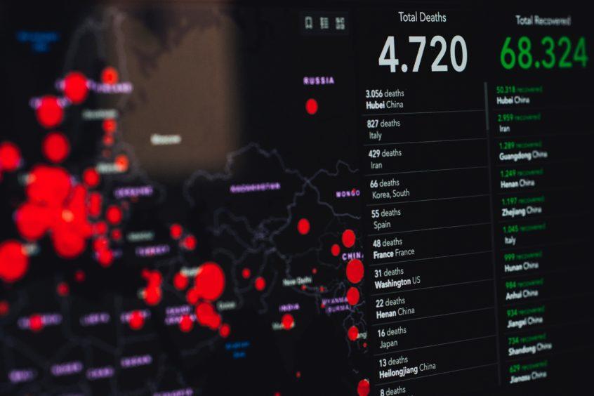 Data journalists are helping to visualise the coronavirus crisis.