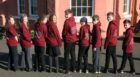Isla, Niamh, Beth, Jessica, Max, Logan, Finn, Euan and Jamie leaving North Queensferry Primary last week are all learning at home now.