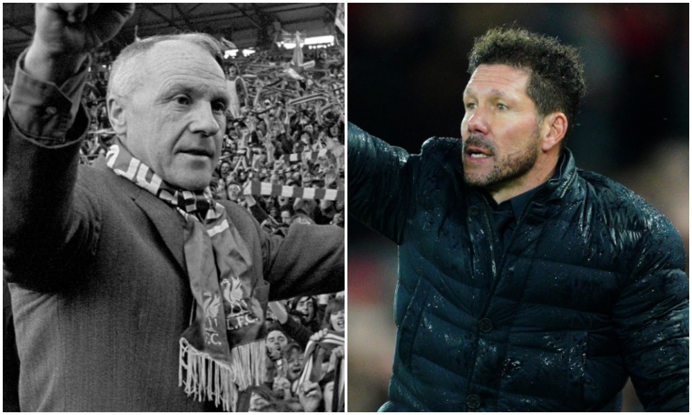 Jim Spence discusses Bill Shankly and Diego Simeone in this week's column