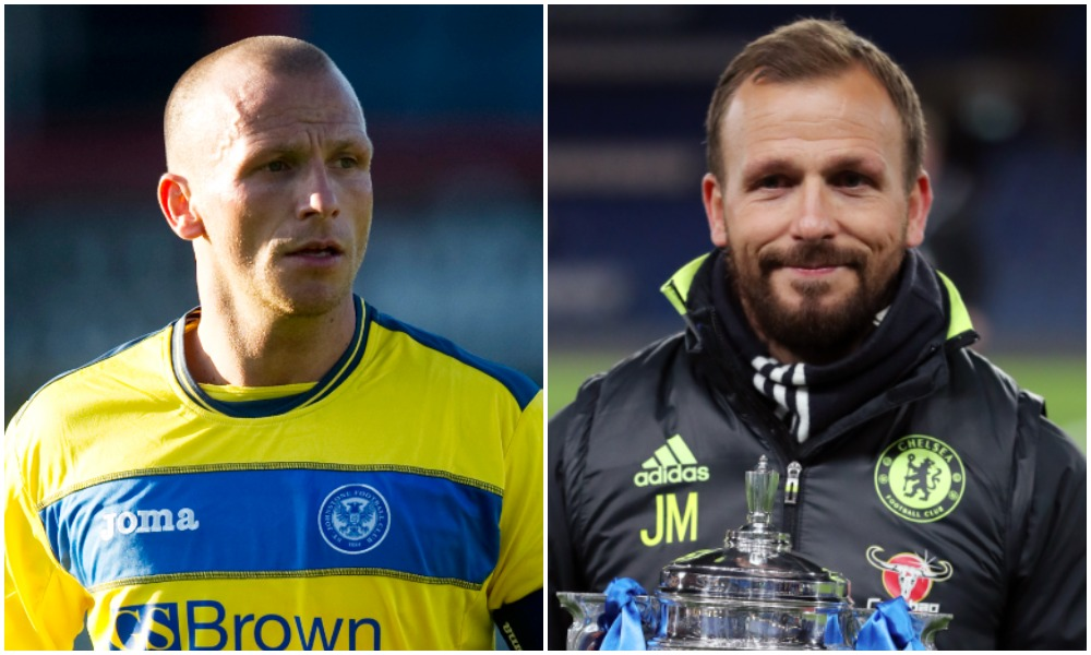 Jody Morris revived playing career at St Johnstone