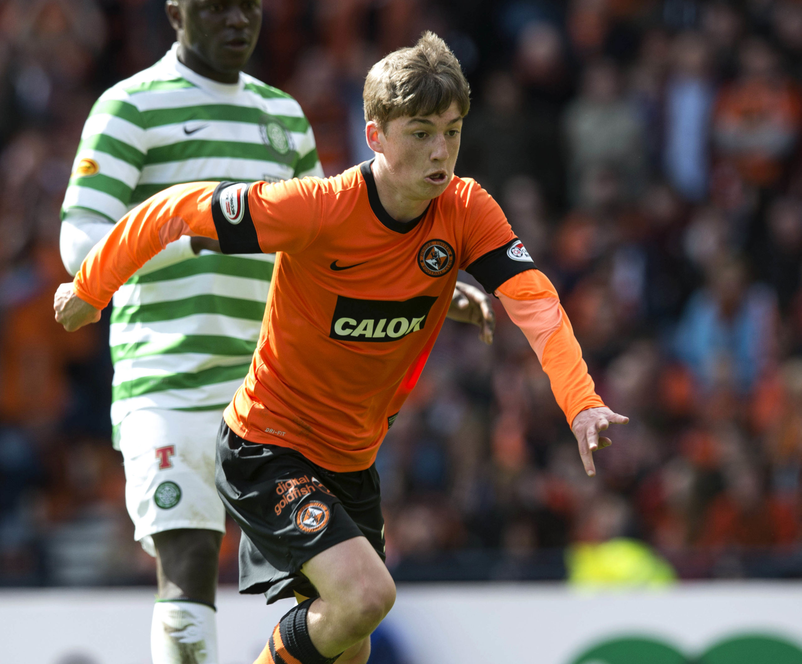 Ryan Gauld made breakthrough at Dundee United before Sporting switch in 2014.