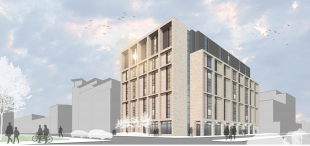 How the flats would look if approval is given.
