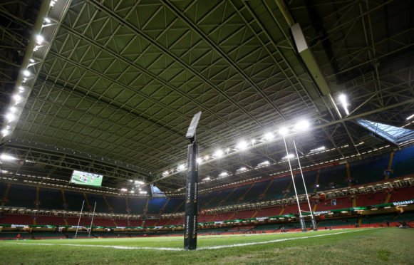 Scotland's game against Wales in Cardiff was postponed 24 hours before kick off..