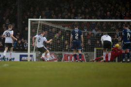 Conor Hazard claims he got lucky with penalty save against Ayr that helped Dundee extend unbeaten run