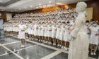 China Beijing Hospital Nurses Capping Ceremony - 26 Apr 2020