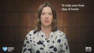 Catherine Calderwood had been the public face of a nationwide campaign urging Scots to to stay at home.