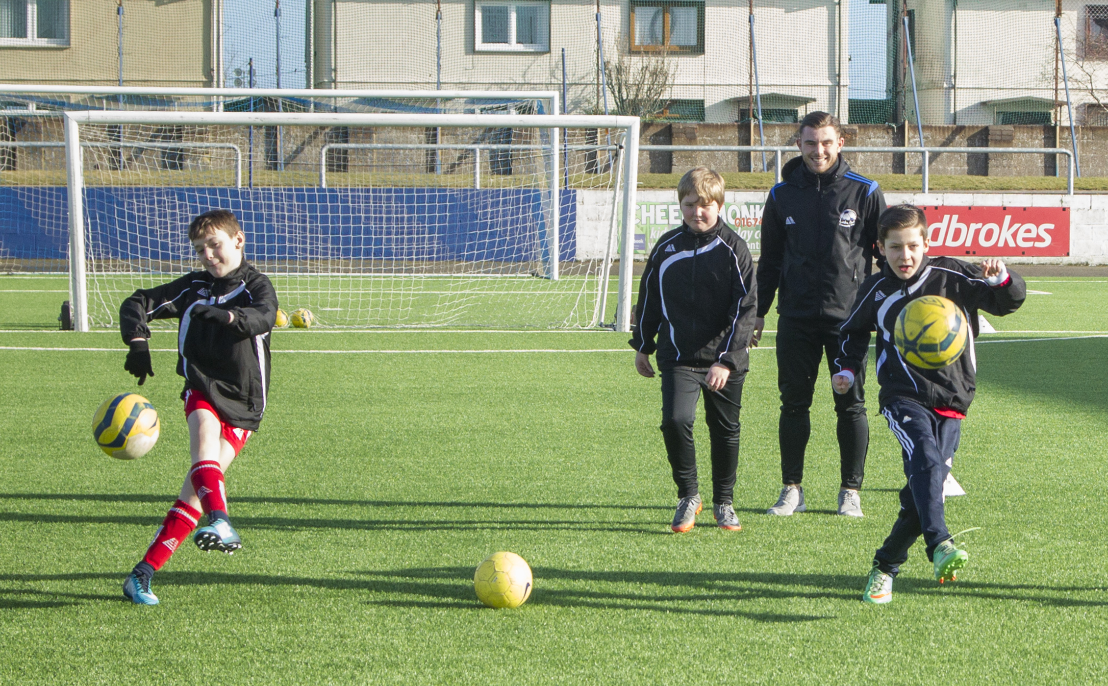 Montrose Community Trust regularly runs sessions for local youngsters.