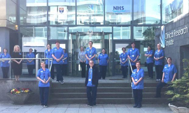 The clinical reserach nursing team.