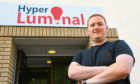 Hyper Luminal Games chief executive and co-founder Stuart Martin
