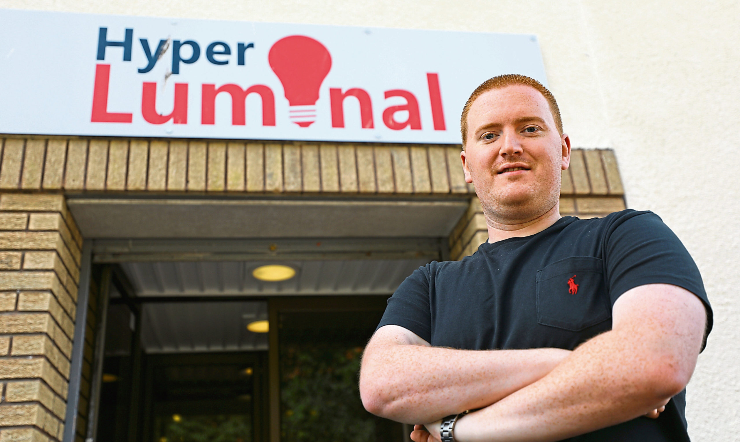 Hyper Luminal Games chief executive and co-founder Stuart Martin