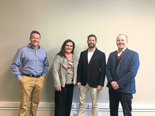 Gilson Gray merges with Wallace and Co Property Management Matthew Gray, Elaine Wallace, Glen Gilson Derek Tyson