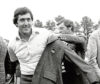 Mandatory Credit: Photo by Uncredited/AP/Shutterstock (6601920a) Seve Ballesteros Seve Ballesteros of Spain, left, is helped with his Masters green jacket by the previous year's winner, Fuzzy Zoeller, right, after winning the 1980 Masters, in Augusta, Ga. Ballesteros had a 10-shot lead going to the back nine in the 1980 Masters before throwing away shots. His six-shot win was one of the most dominant Masters victories Masters Five Blowouts Golf, Augusta, USA