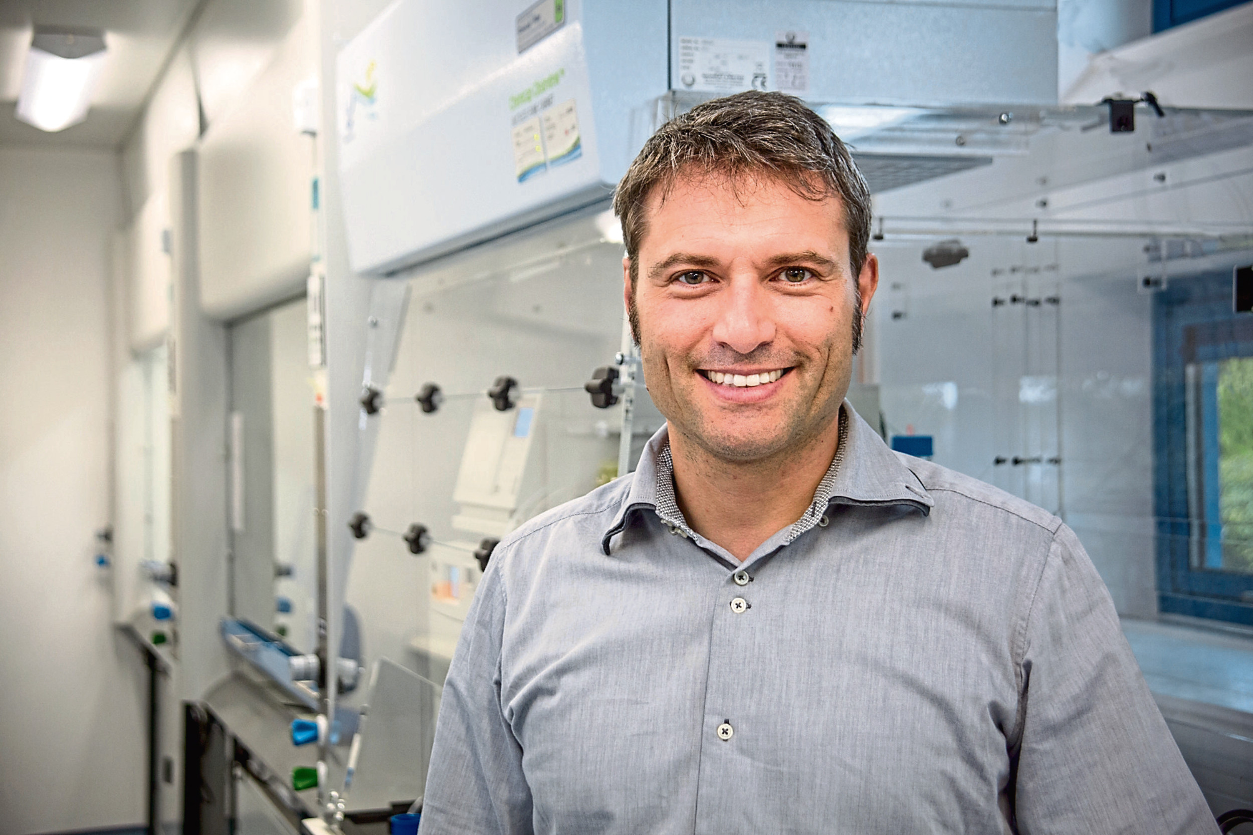 Amphista Therapeutics scientific founder, Professor Alessio Ciulli, who is based at the University of Dundee