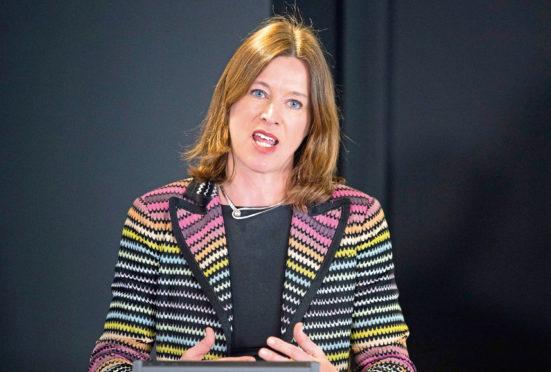 Former Chief Medical Officer for Scotland Catherine Calderwood.