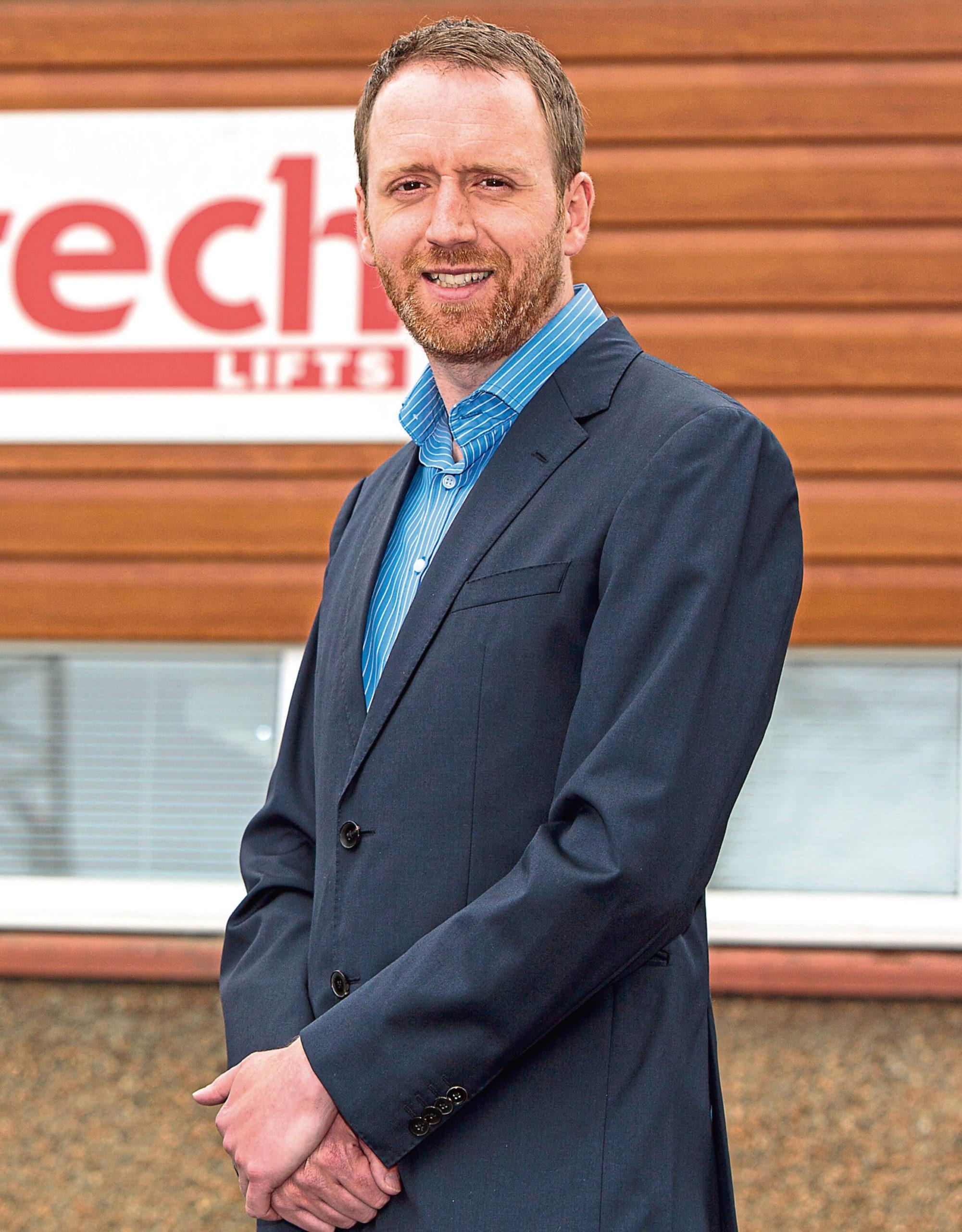 Caltech Lifts' managing director Andrew Renwick.