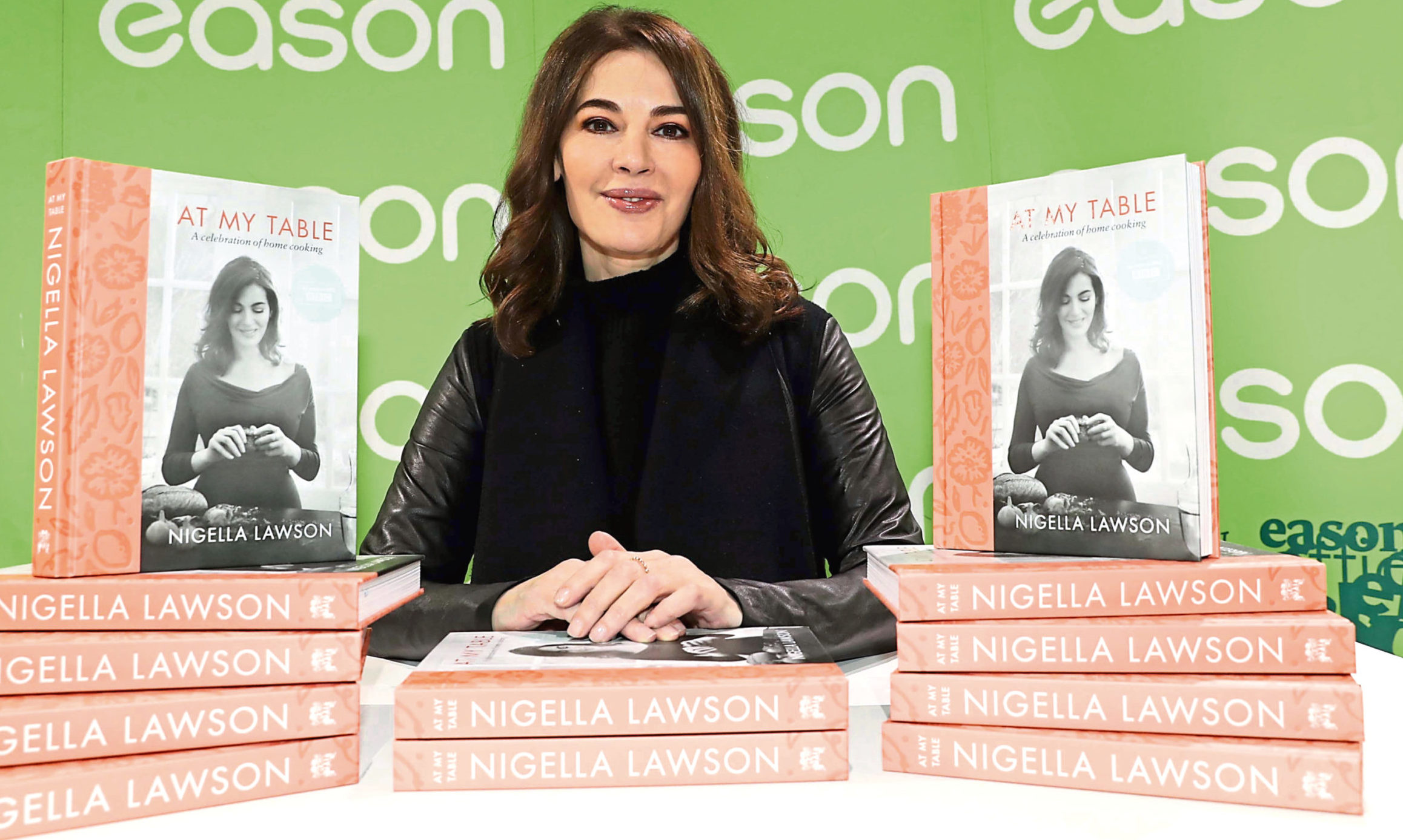Nigella Lawson, cookery book author and TV presenter at the launch of her book  'At My Table, A Celebration of Home Cooking'. Photo: Shutterstock.