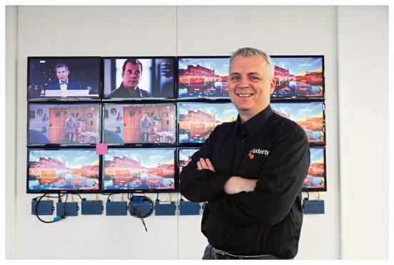 Exterity chief executive Colin Farquhar