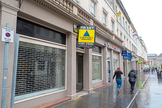 Evening Telegraph - Dundee - 39 Reform Street GV - Dundee - GV required of 39 Reform Street, Dundee - Picture Shows: Empty 39 Reform Street on High Street, Dundee - Saturday 13 May 2017