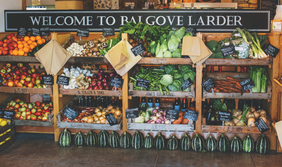 Balgove Larder is conquering deliveries, ensuring those self-isolating can get access to items they need