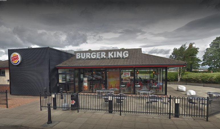 Burger King at Kingsway West, Dundee.