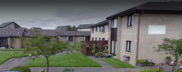 The Cairn retirement housing complex in Carnoustie.