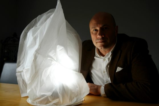 Councillor Derek Wann is urging people not use Chinese lanterns.