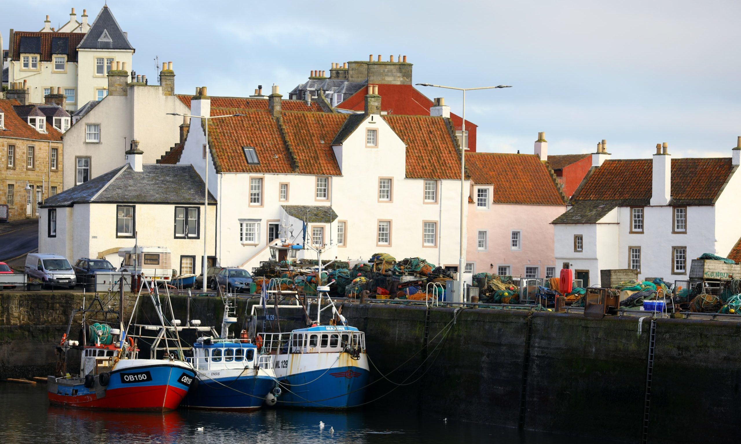 The picturesque East Neuk has been a haven for holiday homes in recent years.