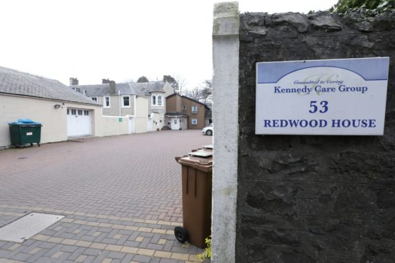 Redwood House care home in Broughty Ferry.