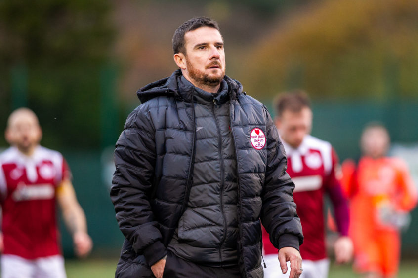 Barry Ferguson is now gaffer at Kelty Hearts