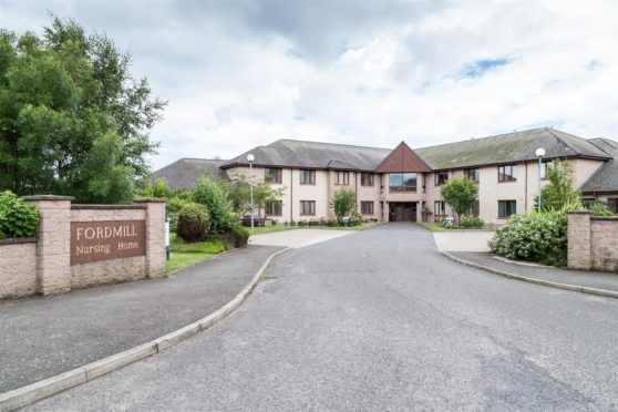 Fordmill Care Home in Montrose.