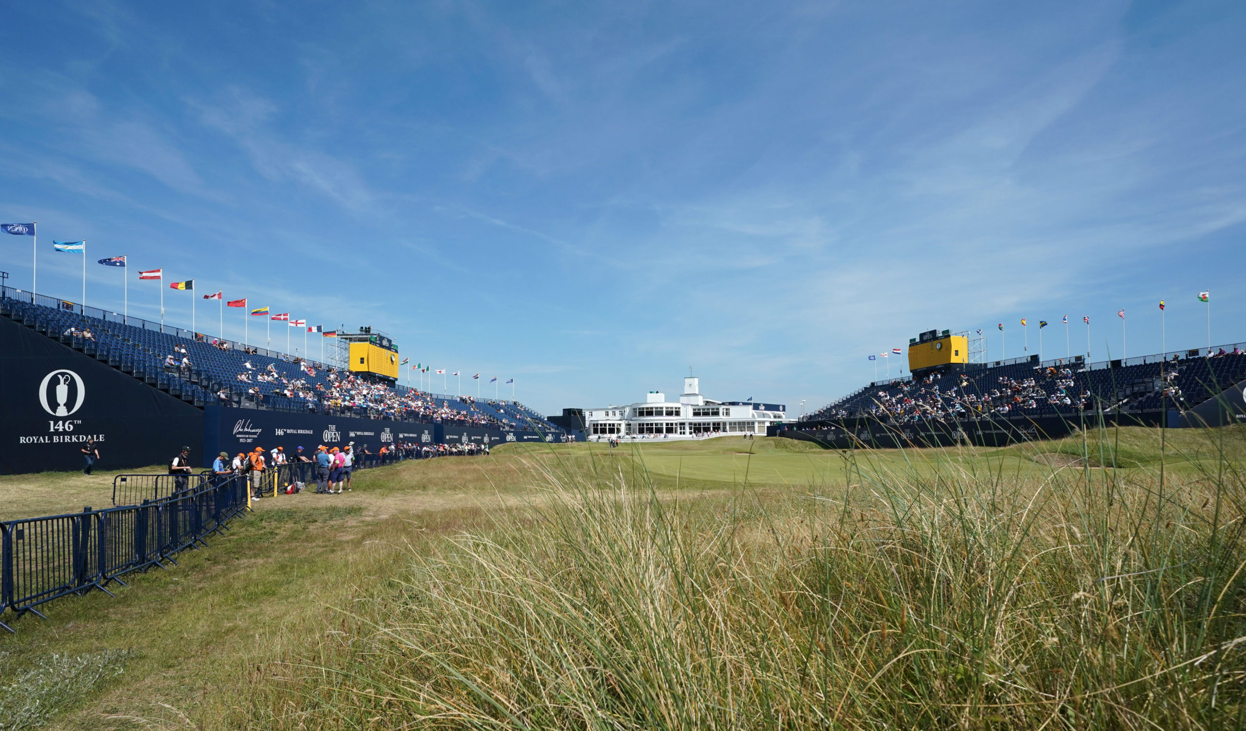 Royal Birkdale Golf Club hosts the Amateur this week.