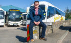 Gary Rutherford, boss at Earnside Coaches