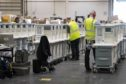 Ventilators are stored and ready to be used by Coronavirus patients at the ExCel centre in London which is being made into a temporary hospital - the NHS Nightingale hospital, comprising of two wards, each of 2,000 people, to help tackle coronavirus.