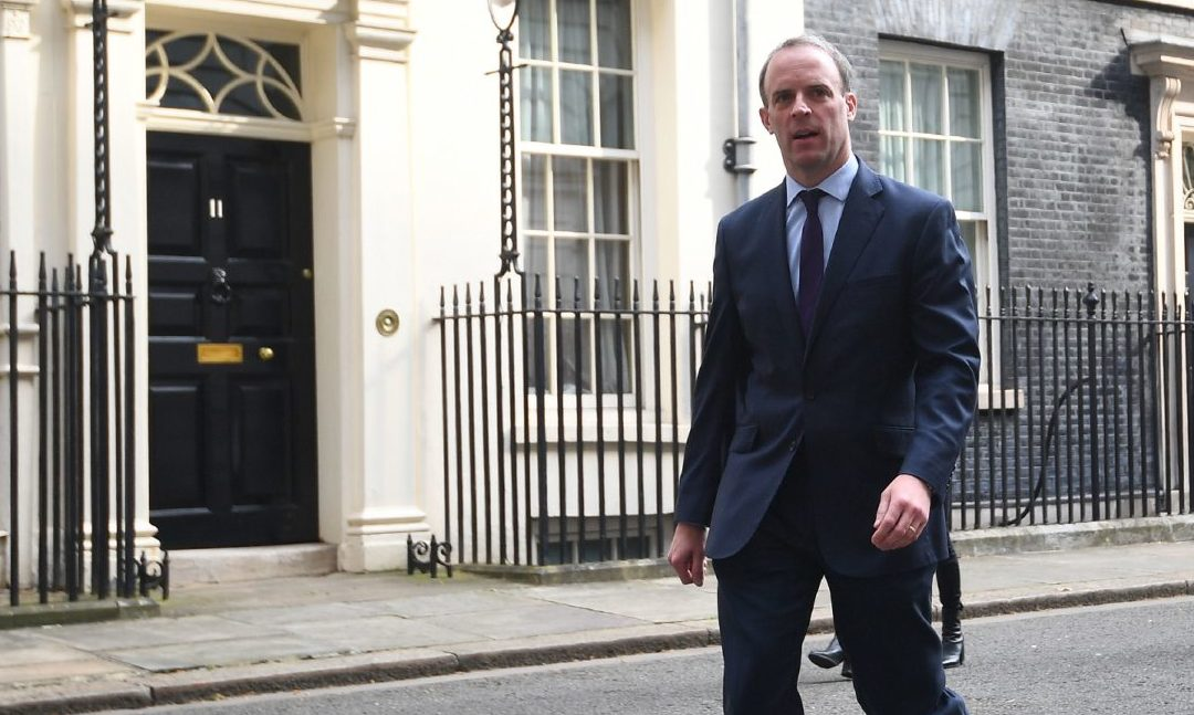 Foreign Secretary Dominic Raab.