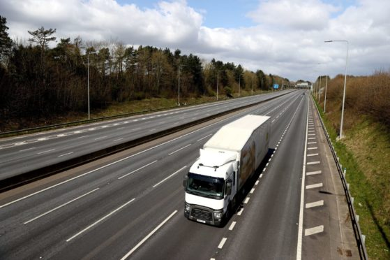 Lorry drivers are demanding more support as they work to keep our shops stocked during the lockdown.