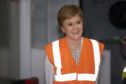 Nicola Sturgeon says she finds Janey Godley's work very funny.