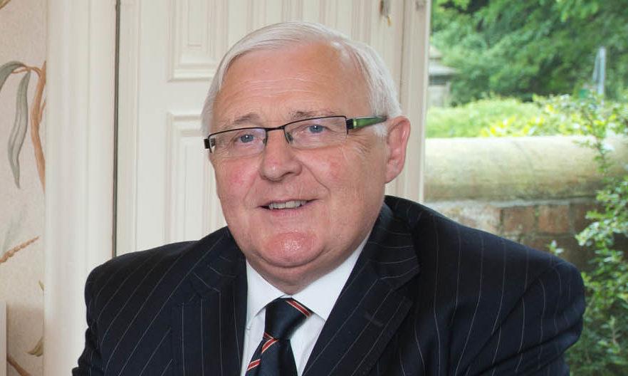Jack Robertson, former chairman of Thorntons