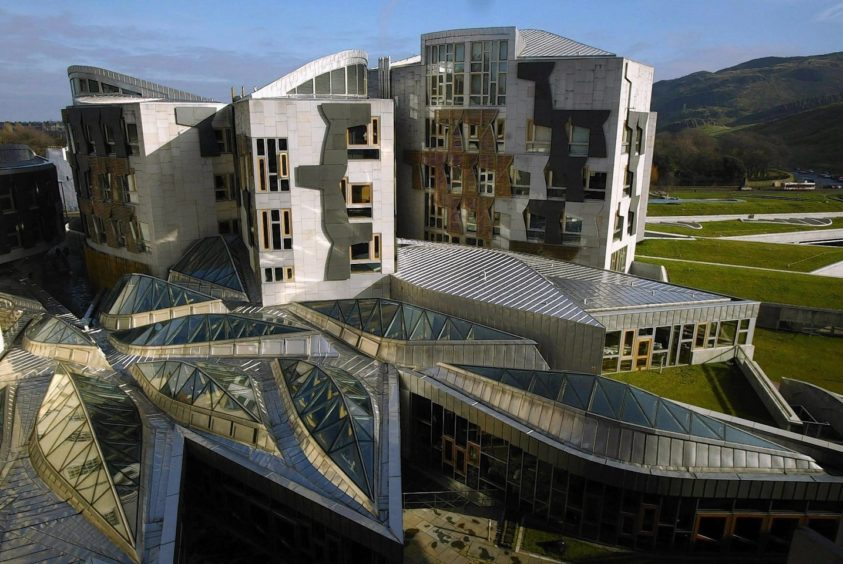 MSPs went back to the Scottish Parliament to discuss the coronavirus crisis.
