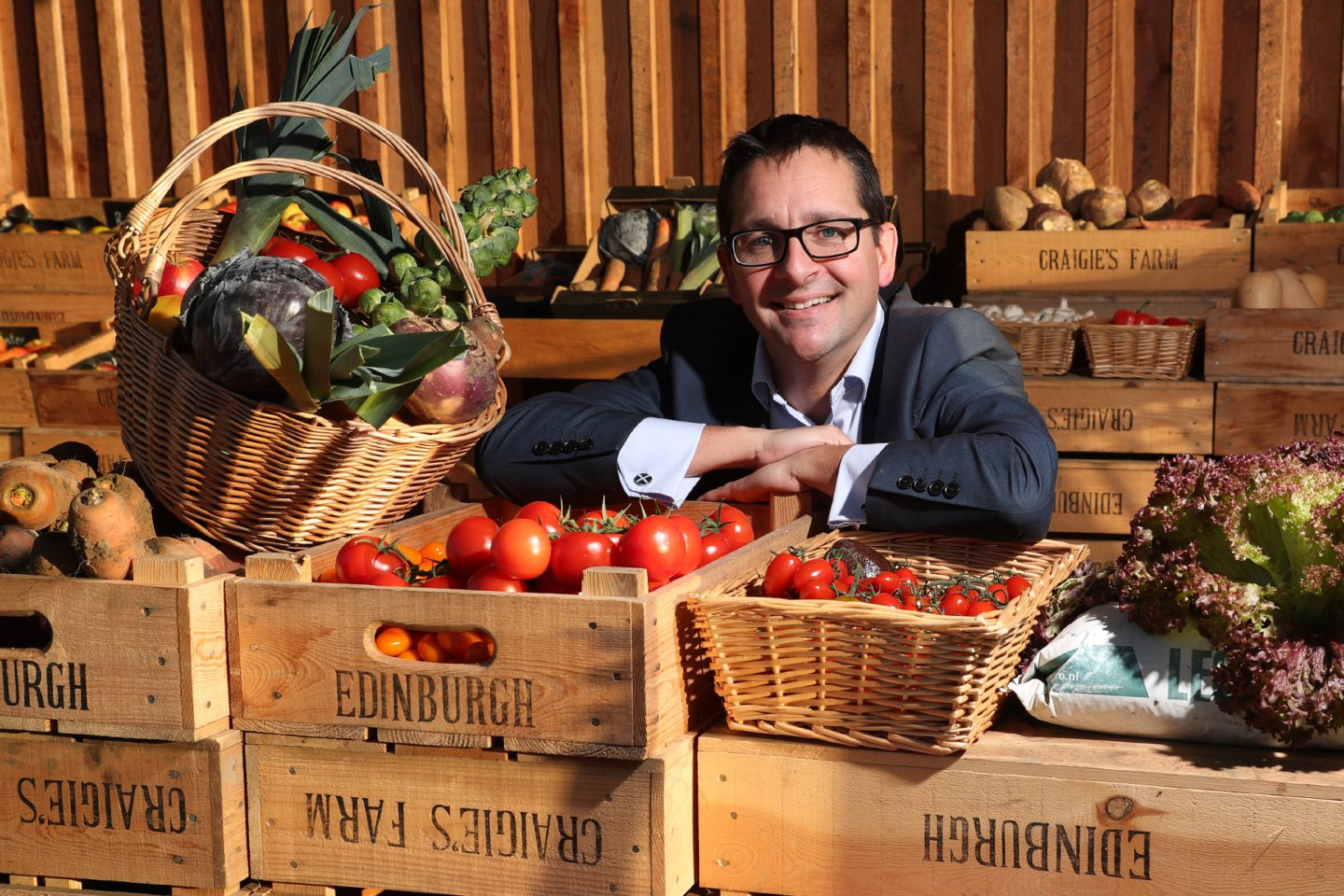 James Withers, Chief Executive of Scotland Food & Drink