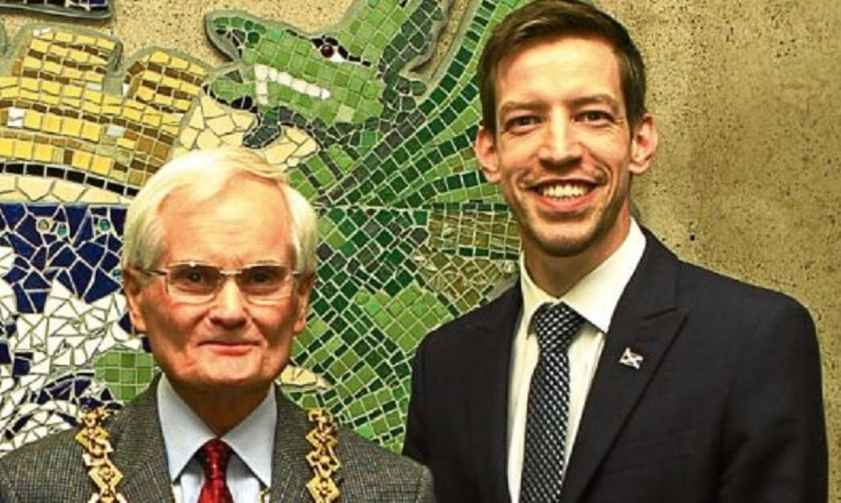 Ian Borthwick and John Alexander.